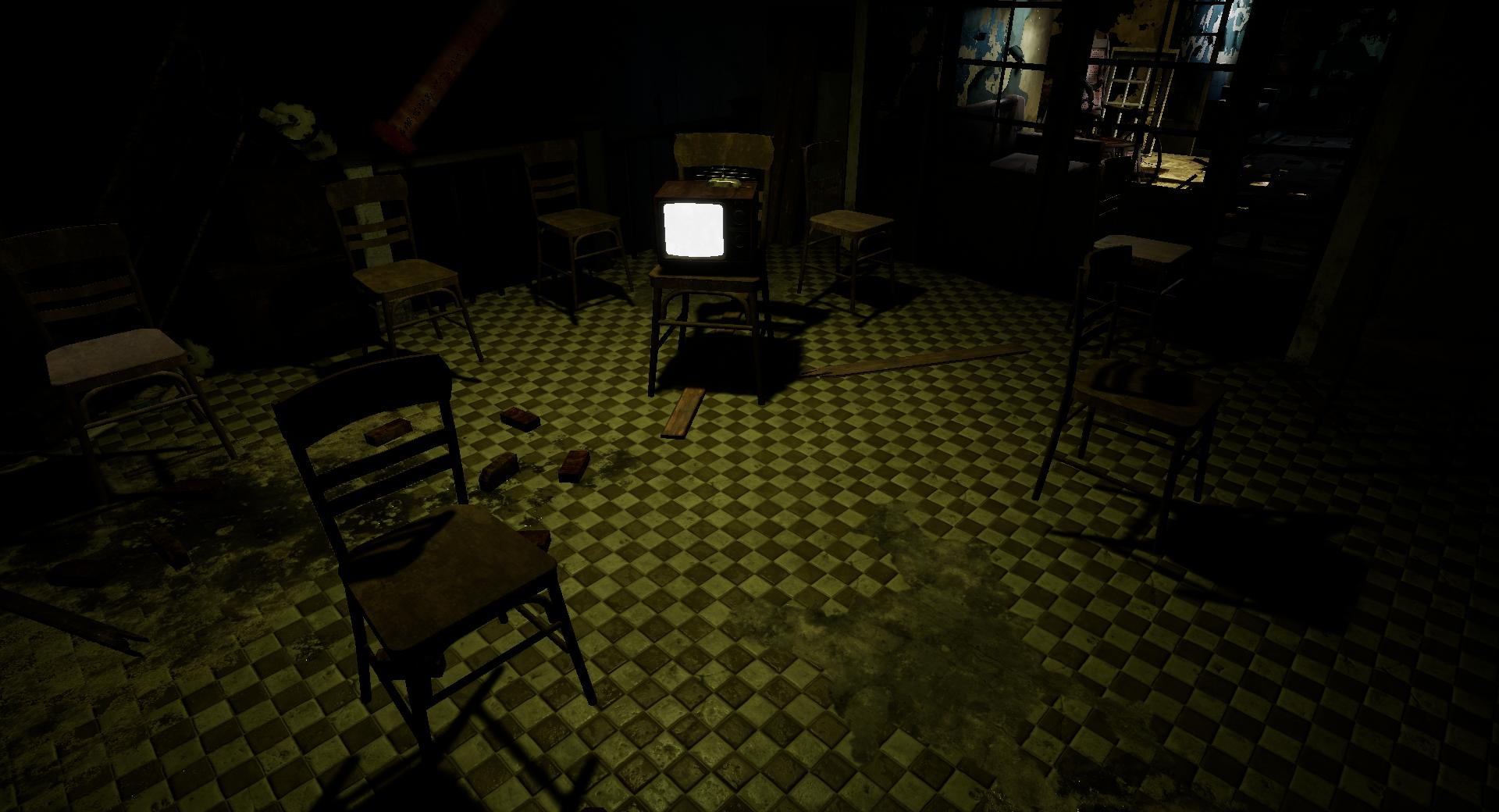 Hospital of horror VR haunted house